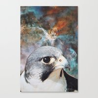falcon Canvas Prints featuring Falcon by John Turck