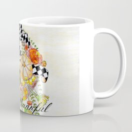 Thankful Wreath Coffee Mug