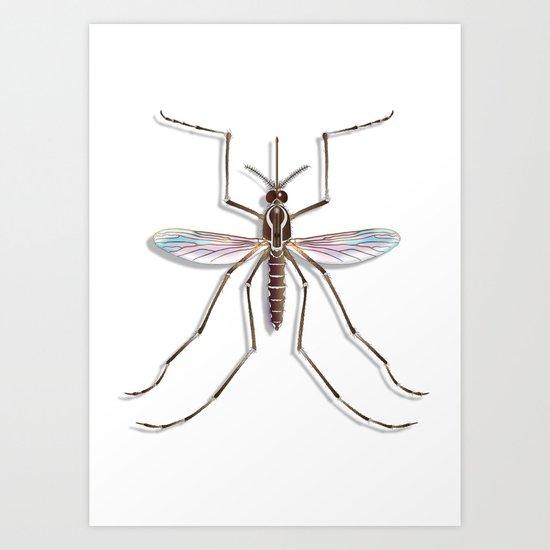 Mosquito Art Print