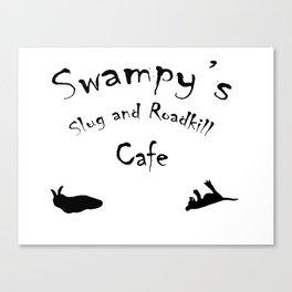 Swampy's Canvas Print
