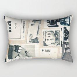 fin de emision Rectangular Pillow