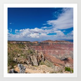 North_Rim Grand_Canyon, Arizona - I Art Print