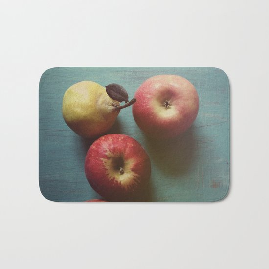 Autumn Apples Bath Mat