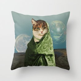 Traveller Throw Pillow