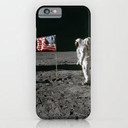 Man on the Moon Apollo 11 iPhone Case