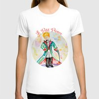 le petit prince T-shirts featuring The little Prince- Le Petit Prince by Colorful Simone