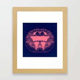 In the he space Framed Art Print