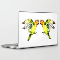 parrot Laptop & iPad Skins featuring Parrot by cmphotography