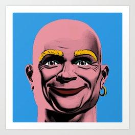 Mr Clean Pop Art Art Print