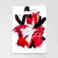 cracked Stationery Cards featuring Cracked by Daniel Malta
