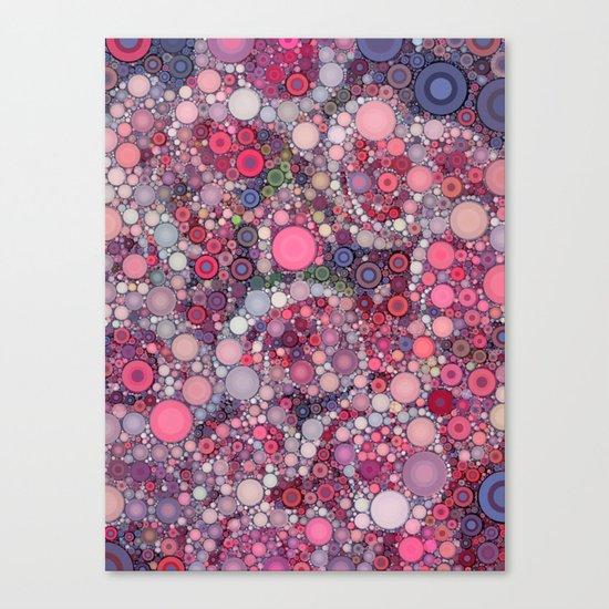 :: Pink Constellation :: Canvas Print