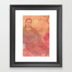 Yiayia Framed Art Print