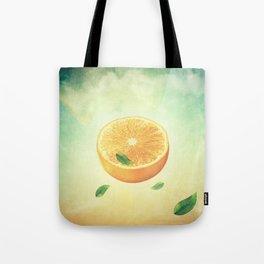 The Orange Conspiracy Tote Bag