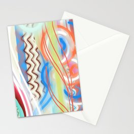 Cheerful Abstract Stationery Cards
