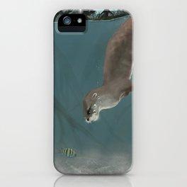 Otter in a Mangrove, Costa Rica iPhone Case