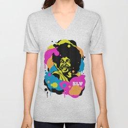 Soul Activism :: Sly Stone Unisex V-Neck