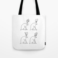 The Probability Magnet (with text) Tote Bag