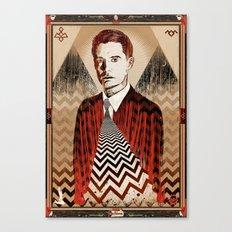 Twin Peaks ∆∆ Canvas Print