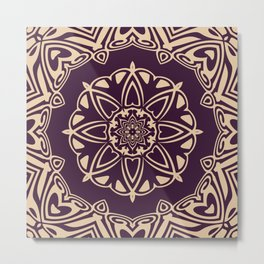 Mandala 9d Metal Print