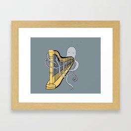 Octopus harper- illustration print Framed Art Print