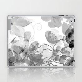Rosie Outlook - grayscale Laptop & iPad Skin