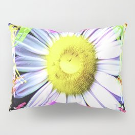 Pink And Yellow Delight Pillow Sham