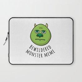 Bewildered Monster Meme Best Gift Laptop Sleeve