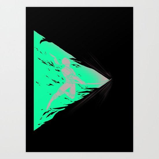 SAYONARA! Art Print