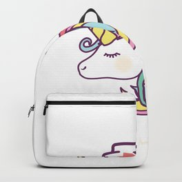 I'm A Nurse 50% Unicorn 50% Nurse 100% Magical For A LPN graphic Backpack