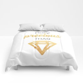 More Precious Than... Comforters