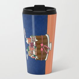 Powdered sugar, not snow! Travel Mug