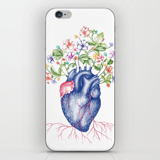 Strawberry Heart  iPhone Skin