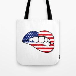 American lips Tote Bag