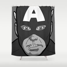 The secret life of heroes - Photobooth2-2 Shower Curtain