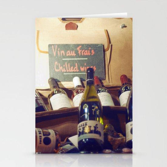 Vin au Frais: Chilled Wine Stationery Cards