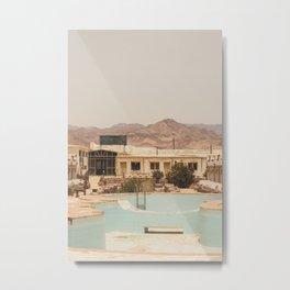 Abandoned Resort Metal Print