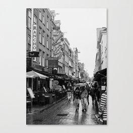 Amsterdam: The Coffeeshop Canvas Print