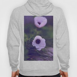 Purple Anemone Hoody