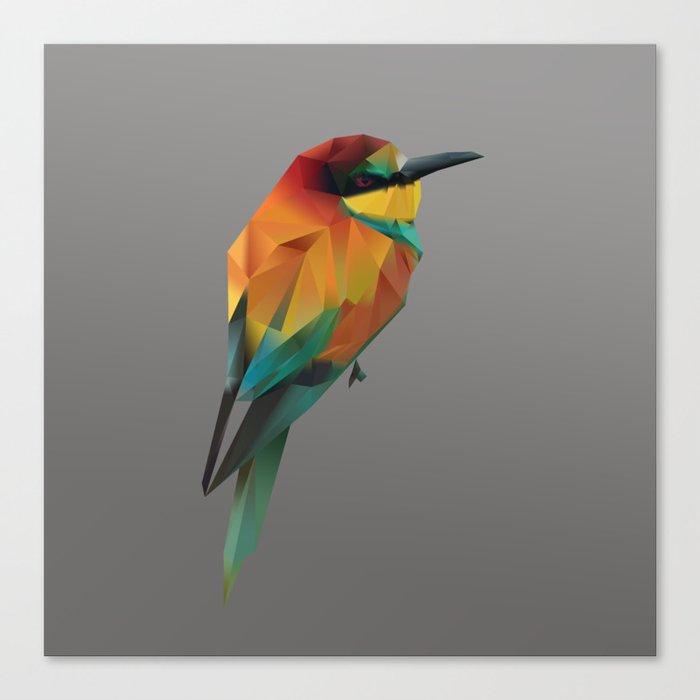 LowPoly Bird Canvas Print
