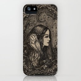 The Priestess of Hecate iPhone Case
