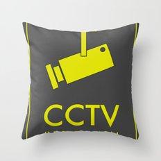 CCTV Throw Pillow