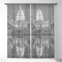 A weekend in Washington DC.  Sheer Curtain
