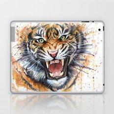 Tiger Watercolor Wild Animal Jungle Animals Laptop & iPad Skin