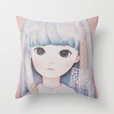 Little Spring Throw Pillow