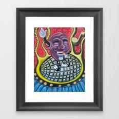 california raisin Framed Art Print