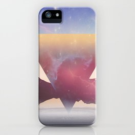 When The Nebula Hits iPhone Case