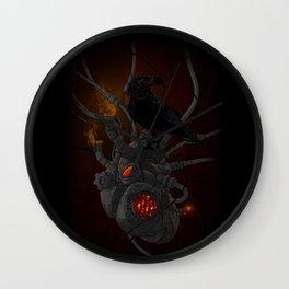 Coal My Heart Wall Clock