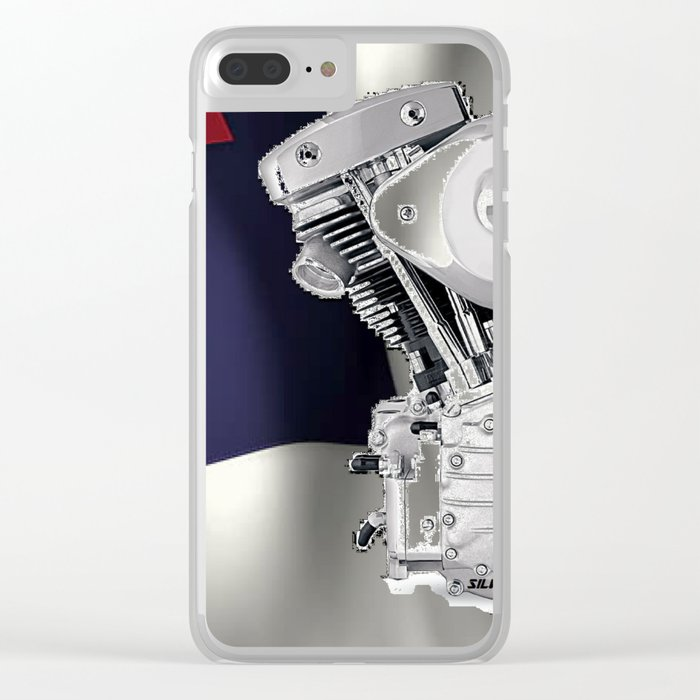 Christian Riders Clear iPhone Case