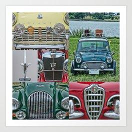 European Autos Art Print