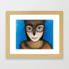 Sheowl Framed Art Print